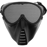 1Pcs Airsoft Paintball Resistant Military CS Army Games Half Face Mask Mental Mesh Mask Costume For Adult CS Party Cosplay New