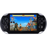 Coolboy X9 4.3 Inch Intelligence Handheld Video Game Console MP3 MP4 300games Support Download 8G Memory Black