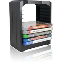 Multifunctional Universal Games & Blu Ray Discs Storage Tower For 10 CD games or Blu-ray discs holder for Xbox One for PS4