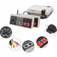 NES620 Vintage Retro Handheld Game Player, Classic Game Console With Built-in 620 Games For Children Kids White